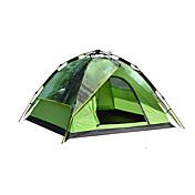 DesertFox® 3 a 4 Personas Tienda Doble Carpa para camping Una Habitación Tienda de Campaña Automática Impermeable Resistente a la lluvia