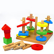 ブロックおもちゃ 陣取りゲーム おもちゃ 方形 ウッド 子供用 小品