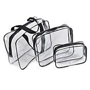 3枚 トートバッグ&化粧ポーチ 防水 防雨 防塵 ソフト 長方形 アクリルネイル マニキュア リムーバーネイル ハンドクリーム ハンドローション ジェルネイル