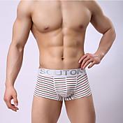 男性用 メンズ ウルトラセクシーショーツ ボクサー,ストライプ