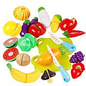 Brinquedos de Faz de Conta Conjuntos Toy Cozinha Toy Foods Brinquedos Vegetais friut Crianças Peças