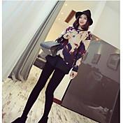 レディース ストリートファッション ローライズ ルーズ マイクロエラスティック ショーツ パンツ 純色 ゼブラプリント