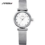 Mujer Simulado Diamante Reloj Reloj de Vestir Reloj de Moda Reloj Pulsera Reloj creativo único Chino Cuarzo Resistente al Agua Resistente