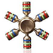 Fidget spinners Hilandero de mano Juguetes Six Spinner Alta Velocidad Juguetes de oficina Alivia ADD, ADHD, Ansiedad, Autismo Por matar