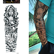 1 Non Toxic Talla Grande Waterproof Otros Tatuajes Adhesivos