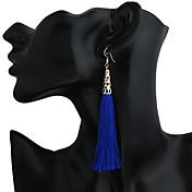 Mujer Cierre del pendiente Pendientes colgantes Pendients de aro Colgante joyería de disfraz Metal Legierung Forma Geométrica Joyas Para