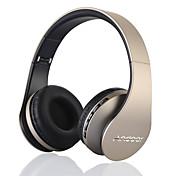 Sobre el oído Sin Cable Auriculares El plastico Teléfono Móvil Auricular DE ALTA FIDELIDAD / Con control de volumen / Con Micrófono