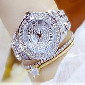 Mujer Reloj de Cristal Pavé Simulado Diamante Reloj Reloj creativo único Reloj de Pulsera Reloj Pulsera Reloj de Vestir Reloj de Moda