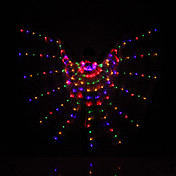 ベリーダンス イシスウィング 女性用 ダンスパフォーマンス ポリエステル 3個 動物 クリスマス サンクスギビング ホリデー 人物 歴史上の人物 妖精 1×ホルダー 翼
