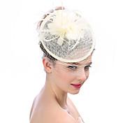 Mujer Lino Tul Sombrero Playero - Sombrero Clásico Moderno Modern Moda Un Color