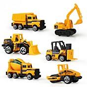 車両 自動車おもちゃ 建設車両 おもちゃ プラスチック アルミ合金カーボン 男女兼用 6 小品