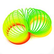 Muelles de juguete Muelle Colorido Juguetes Redondo Novedad Ecológica Manualidades Luz del arco iris Plásticos No Especificado 1 Piezas