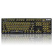 ajazzキーキャップは機械式キーボードのために設定されていますgamimg keyboard steampunk keycaps 104 keys