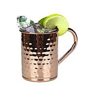 drinkware, taza del coctel del jugo del burro de Moscú del acero inoxidable 400ml