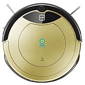 Robot Vacuum DS Auto-recarga Evita Caídas Sistema anticolisión Plan de limpieza de la agenda Mopping húmedo y seco Remoto