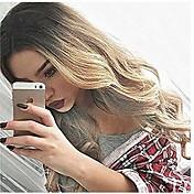 Mujer Pelucas sintéticas Largo Ondulado Grande Rubio Pelo Ombre Peluca natural Pelucas para Disfraz