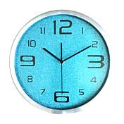 コンテンポラリー カジュアル 家族 壁時計,円形 ガラス 屋内/屋外 屋内 屋外 クロック