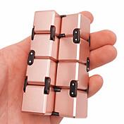 無限キューブ フィデット・トイ マジックキューブ 科学&観察おもちゃ ストレス解消 知育玩具 おもちゃ 方形 ノベルティ柄 3D メタル 小品 子供用 成人 ギフト