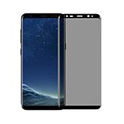強化ガラス スクリーンプロテクター のために Samsung Galaxy S8 Plus スクリーンプロテクター 硬度9H 指紋防止 覗き見防止 3Dラウンドカットエッジ