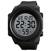 SKMEI Hombre Reloj Deportivo Reloj digital Digital Silicona Banda Negro Verde