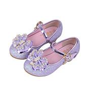Chica Zapatos Sintético Primavera Verano Otoño Invierno Confort Bailarinas Cristal Cuentas Lentejuela Perla de Imitación Purpurina Cierre