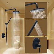 Grifo de ducha - Redondo Bronce Aceitado Sistema ducha Válvula Cerámica