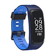 f4スマートブレスレットip68血圧血液酸素心拍数モニタios / android用スマートバンド