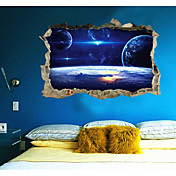 Abstracto Fantasía 3D Pegatinas de pared Calcomanías 3D para Pared Calcomanías Decorativas de Pared,Papel Material Decoración hogareña