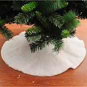1pc Navidad Faldas de árbol de navidad Decoraciones de vacaciones,90*90