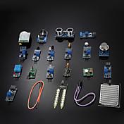 diy 16 en 1 kit de módulo de sensor para frambuesa pi