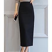 Mujer Asimétrico Faldas
