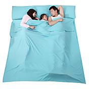 Fengtu Saco de dormir Liner Saco de Dormir 23°C A Prueba de Humedad Plegable Transpirabilidad Compresión Rectangular 210X180 Viaje
