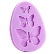 Herramientas para hornear Silicona Ecológica / 3D / Manualidades Pastel / Galleta / Tarta Molde para hornear 1pc