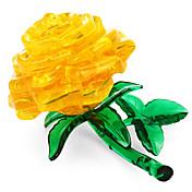Puzzles 3D / Puzzles de Cristal Tema Floral Juguetes de oficina Acryic / Poliéster 44pcs Adultos / Intermedio Todo Regalo