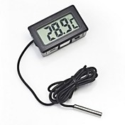 digitális beágyazott hőmérő lcd azonnali olvasás hűtőszekrény akvárium  monitor kijelző vízálló érzékelővel ac4169e84c