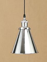 Vedhæng lys krom traditionelle / klassiske / vintage / retro spisestue / stuen / kontor / hall metal
