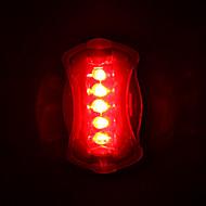 Sykkellykter Baklys til sykkel LED Sykling LED Lys AAA Lumens Batteri Sykling