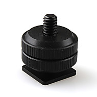 """pro type 1/4 """"-20 stativ skrue å blinke varm sko adapter"""