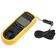 """スマートセンサー1.5 """"LCDデジタル風速風向計+風の寒さの温度計"""