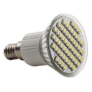 זול נורות לד LED-6000lm E14 תאורת ספוט לד PAR38 60 LED חרוזים SMD 3528 לבן טבעי 220-240V