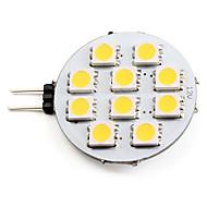 billige Spotlys med LED-2700 lm G4 LED-spotpærer 10 LED perler SMD 5050 Varm hvit 12 V