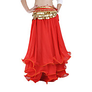 cheap Sale-Belly Dance Skirt Women's Performance Chiffon Ruffles Dropped