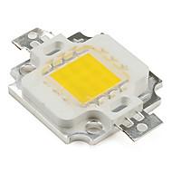 zdm ™ diy 9-12v 900ma 10w 800lm varm hvid led emitter høj kvalitet