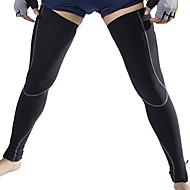 tanie Ocieplacze na ręce i nogi, ochraniacze na buty-Jaggad Ochraniacze na nogi Quick Dry Polarowa podszewka Kolarstwo / Rower Męskie 100% Polyester Jendolity kolor