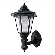 cheap Outdoor Lighting-White Solar Powered Wall Mounted Light   High Quality Outdoor Lighting