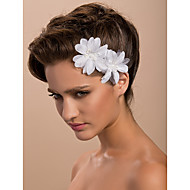 Women's Satin Headpiece-Wedding Special Occasion Casual Outdoor Fascinators Flowers