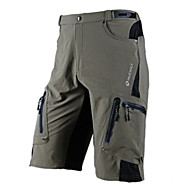 cheap -Nuckily Men's Cycling Shorts - Black / Gray / Green Bike Shorts / MTB Shorts, Quick Dry, Breathable Polyester