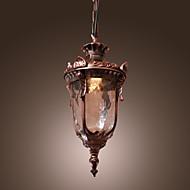 billige Takbelysning og vifter-Lanterne Anheng Lys Omgivelseslys Bronse Glass Mini Stil 110-120V / 220-240V Pære ikke Inkludert / E26 / E27
