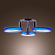 baratos -Montagem do Fluxo Luz Ambiente 110-120V / 220-240V Fonte de luz LED incluída / 10-15㎡ / Led Integrado