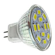 2w gu4 (mr11) led spotlight mr11 12 smd 5730 240-260lm doğal beyaz 6000k dc 12v 1pc